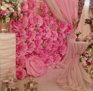 Аренда декора на свадьбу