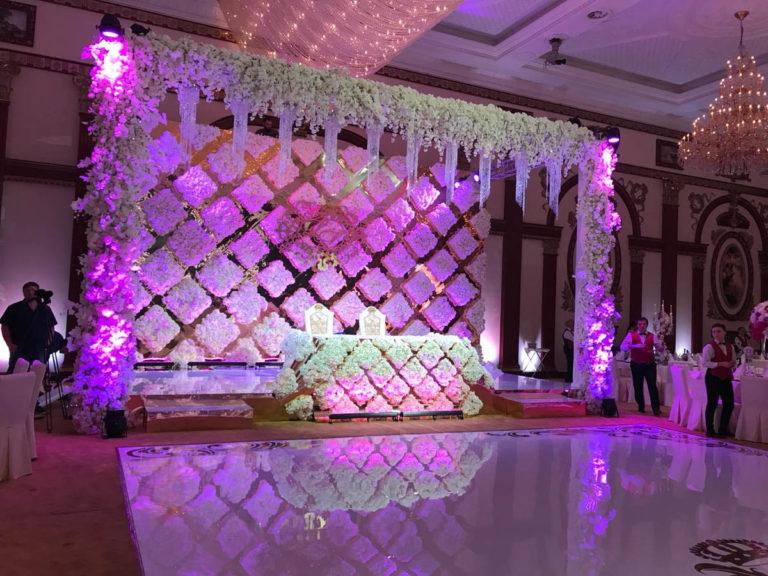 Оформление свадебного зала недорого Москва